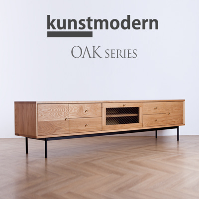 kunstmodern TV board Oak - 03(W2100)